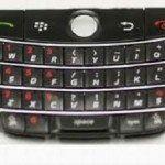 Blackberry 9000 Phím