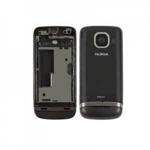 Housing-for-Nokia-311-Asha-Cell-Phone-black-copy-AAA