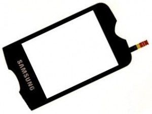 Touch Screen Samsung S3370 White