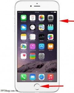 chup man hinh iphone 6 iphone 6 plus