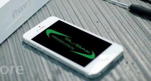 man hinh Iphone bi den man hinh