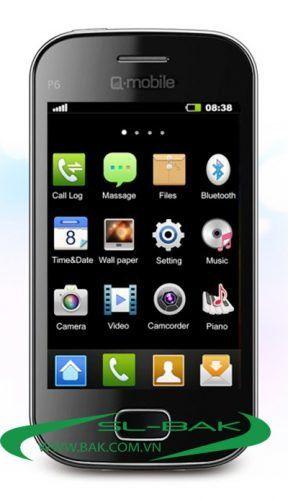 Trải nghiệm cảm ứng Q – mobile P6 thay cho bàn phím.