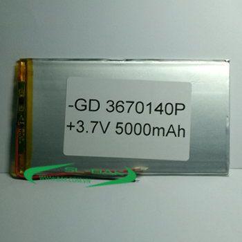 Pin GD 3670140P 5000 mAh