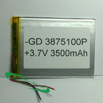 Pin GD 3875100P 3500mAh
