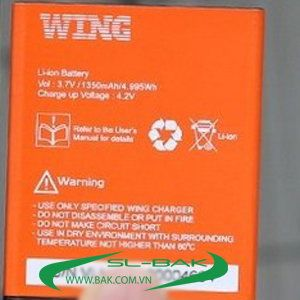 Pin wing v40 1350mah