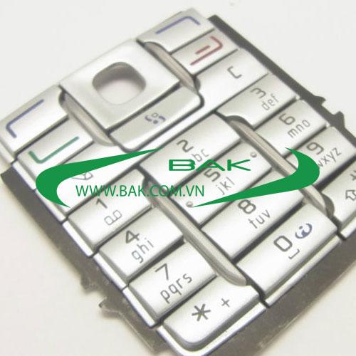 Phím Nokia E60 Bạc